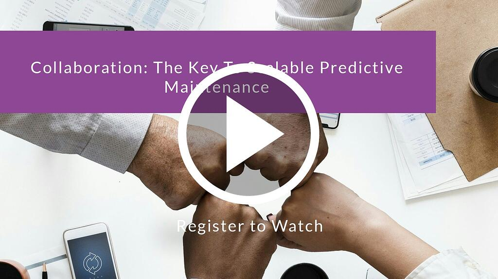 Collaboration: The Key to Scalable Predictive Maintenance