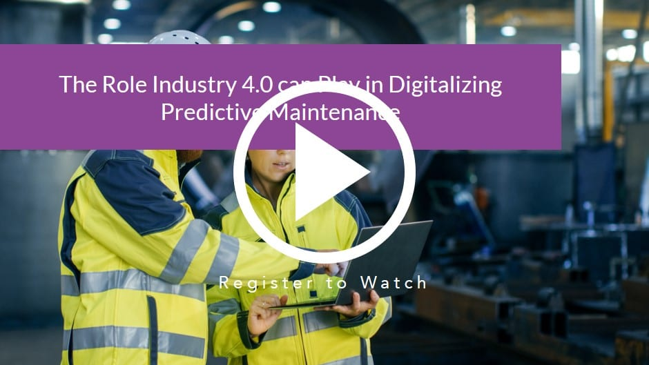 The role Industry 4.0 can play in digitalizing Predictive Maintenance