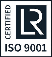 ISO 9001 certified since 2019