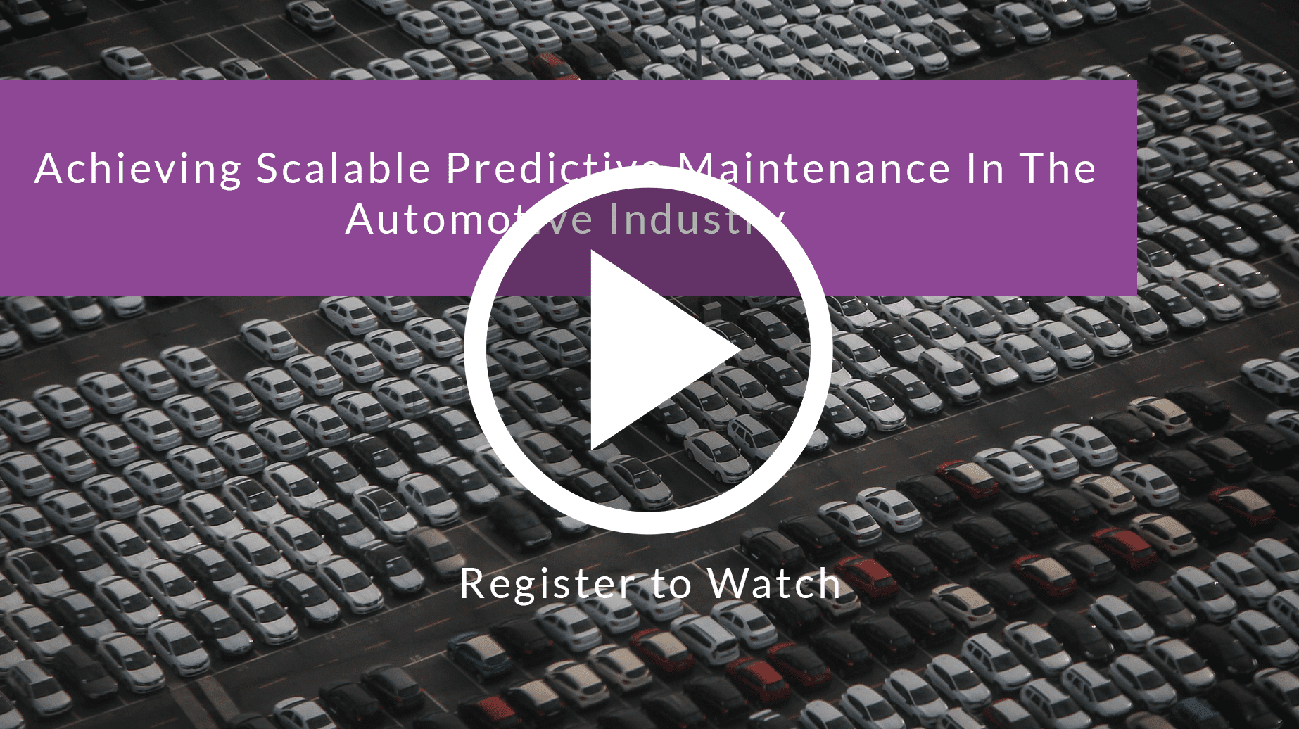 Achieving Scalable Predictive Maintenance In The Automotive Industry